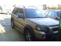 FAULTY ENGINE LANDROVER FREELANDER TD4 AUTO 2004 , 5DR SPARE OR REPAIR