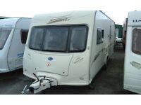 2007 Bailey Senator Vermont, luxury 2 berth caravan
