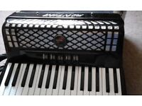 For Sale. FANTINI 34/72 Accordion . 5 couplers, 3 sets of reeds, musette.