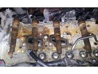 Seized diesel injector and glowplug removal service with hydrauliic pullers at your garage etc