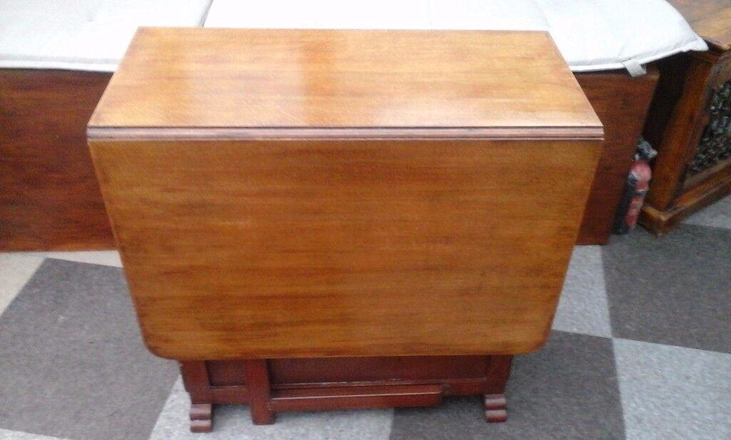 Wood Table Extendable Gate Leg
