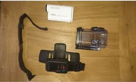 Sony FDRX1000V 4K action cam + LVRM2