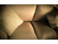 Brand New! Fabric 2 seater sofa with cushions. AMAIZING PRICE