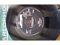 Original 1960's Beatles vinyl singles (Parlophone)