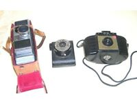 THREE VINTAGE CAMERAS FORM 1950s / 1960s