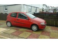 fiatpunto sporting active for sale spairs or repair needs little work done good runner 200 pound ono