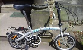Pro team fold up bike