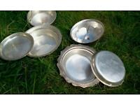 Antique serving bowl set