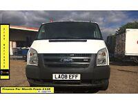 EASTER SALE!!Ford Transit Van 2.2 300-1 Owner Ex BT- FSH 7 Stamps -1YR MOT- 56K Miles - ELEC WINDOWS