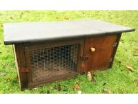 BRAND NEW HUTCH POULTRY DUCK GUINEA PIG FERRET RABBIT CHICKEN HOUSE TIMBER & FELT STRONG HANDMADE