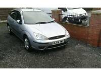 04 plate Ford focus 1,6 3 door moted may