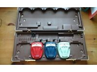 Danelectro Cool Cat pedals and case