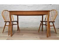 Blonde Ercol Dining Table (DELIVERY AVAILABLE FOR THIS ITEM OF FURNITURE)