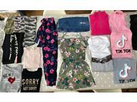Girls clothes bundle age 8-10 (18 items)