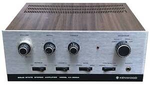 Vintage Kenwood KA-2000A Stereo Amplifier Wareemba Canada Bay Area Preview