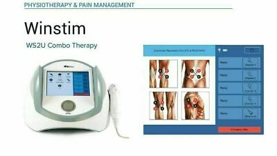 Electrotherapy Ultrasound Therapy Combo Therapy Pain Management Therapy Unit J