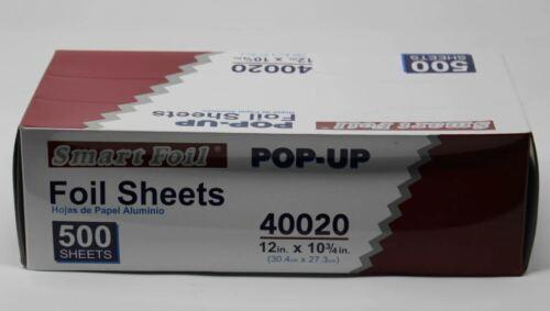 """12""""x10.75"""" Aluminum Foil Pop-Up Sheets (500/Box)"""