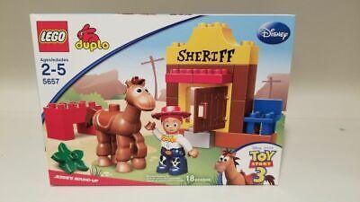 Lego Duplo 5657 Toy Story 3 Jessie's Round-up NEW Factory Sealed
