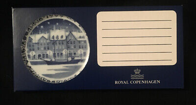Royal Copenhagen 1999 Christmas Plaquette  NEW IN BOX Mint Rare Find