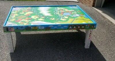 - ISLAND OF SODOR Thomas the Train WOODEN TABLE/PLAYBOARD Learning Curve  (Pick Up