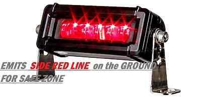 Led Area Warning Line Light Forklift Tractor Equipment Truck 12 - 64 V Warranty