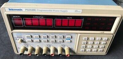 Tektronix Ps2520g Programmable Dc Power Supply