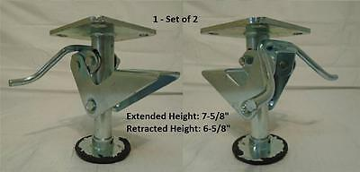 6 Truck Floor Lock - Kickbar - 4 X 4-12 Top Plate 3x 3 Bolt Pattern 2