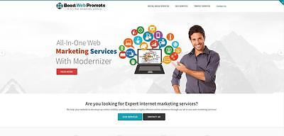 Internet Seo Services Website  - Free Installation Hosting
