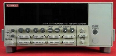 Keithley 6517a Electrometerhigh Resistance Meter With Ieee