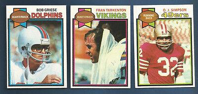 1979 Topps 49Ers O J  Simpson  Card  170