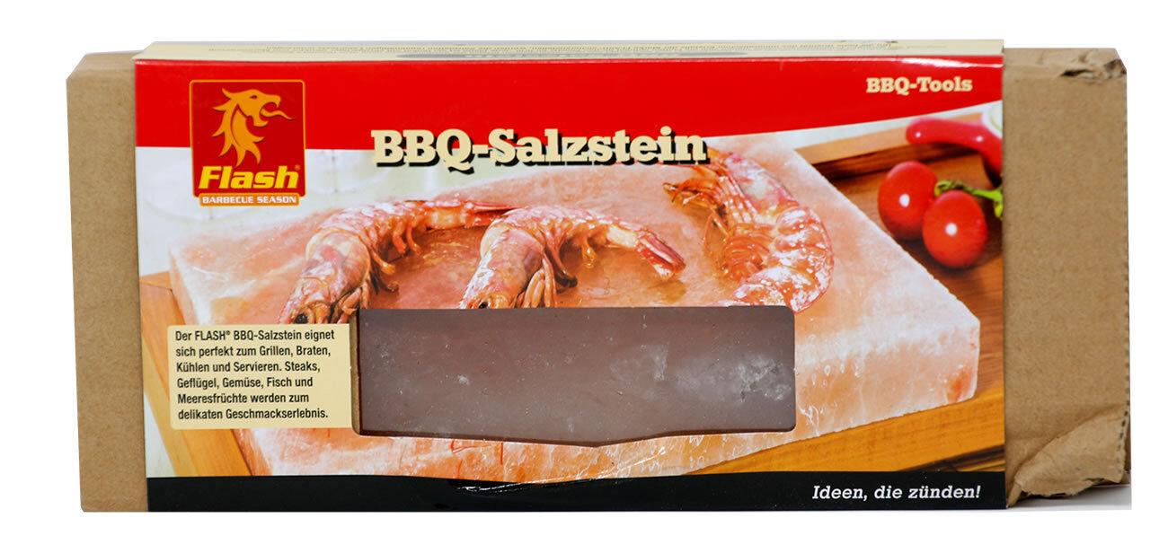 Flash BBQ-Salzstein Grill Salzplatte heißer Stein Aromaplanke Steak Fisch