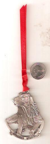 English Springer Spaniel Pewter Christmas Ornament*