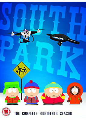 SOUTH PARK SERIES 18 SEASON DVD BRAND NEW AND SEALED for sale  Nottingham