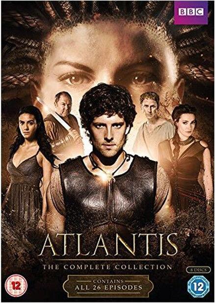 Atlantis - Series 1-2 Complete Dvd Boxset **NEW & SEALED**