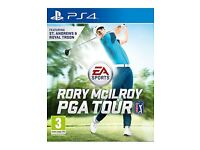 Rory mcilroy golf game ps4