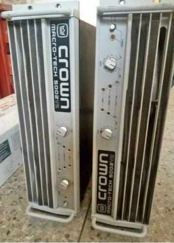 Crown MACRO TECH 5002VZ Power Amplifier
