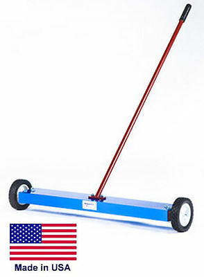 Magnetic Sweeper Commercialindustrial - 20 Cleaning Path 100 Lb Lifting Power