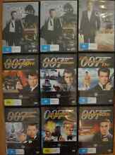 James Bond 007 DVD collection Bayswater Bayswater Area Preview