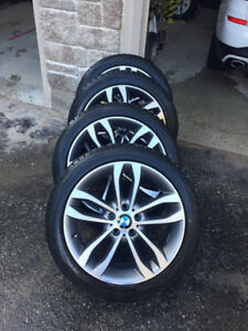BMW X3 M-Package Winter Tires and Wheels