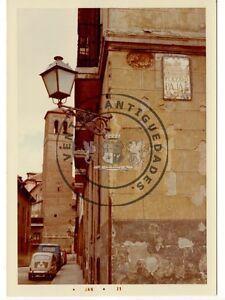FOTO-ANTIGUA-MADRID-PLAZA-DE-LA-PAJA-Y-TORRE-DE-LA-IGLESIA-DE-SAN-PEDRO-EL-VIEJO