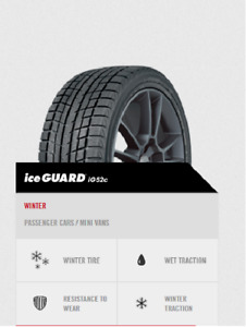 Used winter tires (4) and winter rims