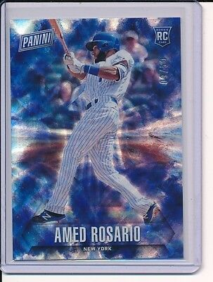 Fathers Day Frames (2018 Panini Fathers Day FUTURE FRAMES FOIL AMED ROSARIO RC #/D 9/50)