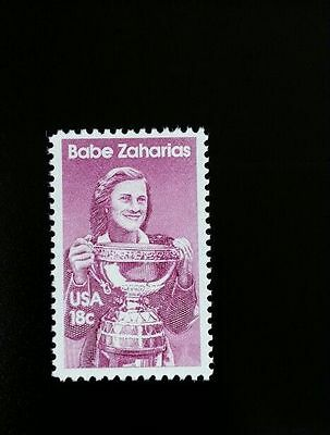 1981 18C BABE DIDRIKSON ZAHARIAS, ATHLETE SCOTT 1932 MINT F/VF NH