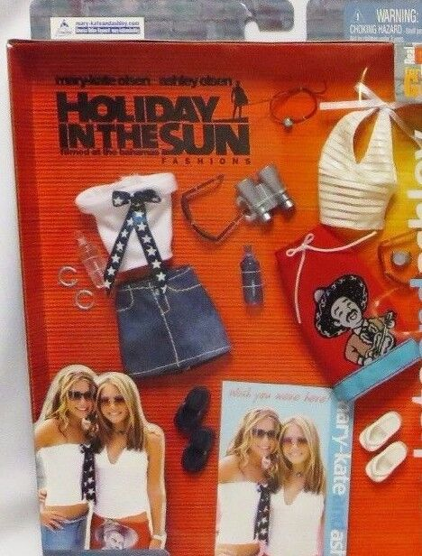 "MIB MARY KATE & ASHLEY OLSEN ""HOLIDAY IN THE SUN"" Outfit 57423"