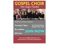 GOSPEL CHOIR seeking new singers JOIN NOW