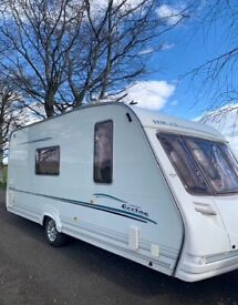 Sterling Eccles Emerald/ 4 berth with side dinette , great condition