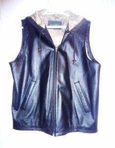 Danier Leather Black Vest