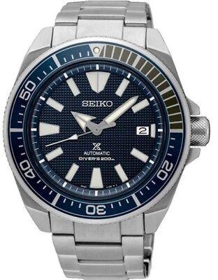 Seiko Prospex Samurai Automatic SRPB49 Stainless Steel Men's Diver's Watch