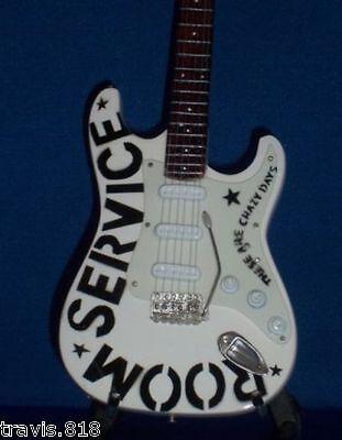 Mini Guitar BRYAN ADAMS ROOM SERVICE Memorabilia FREE STAND ART Gift