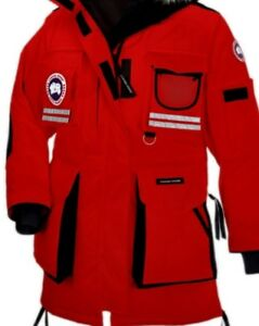 Red snow matra Canada goose parka